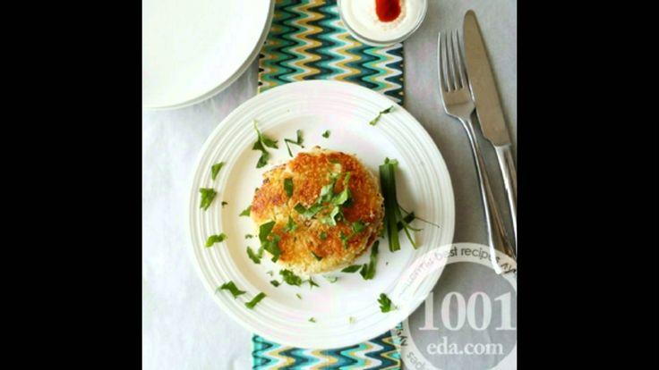 Картофельные котлеты с салом