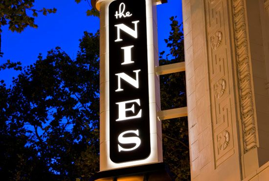 Downtown Portland Hotel the Nines Exterior  Can't wait!!!! @Stephanie Gomes