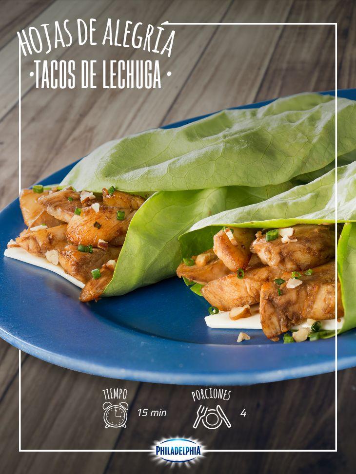 Miércoles de comer saludable, te recomendamos estos Tacos de lechuga, te encantarán.