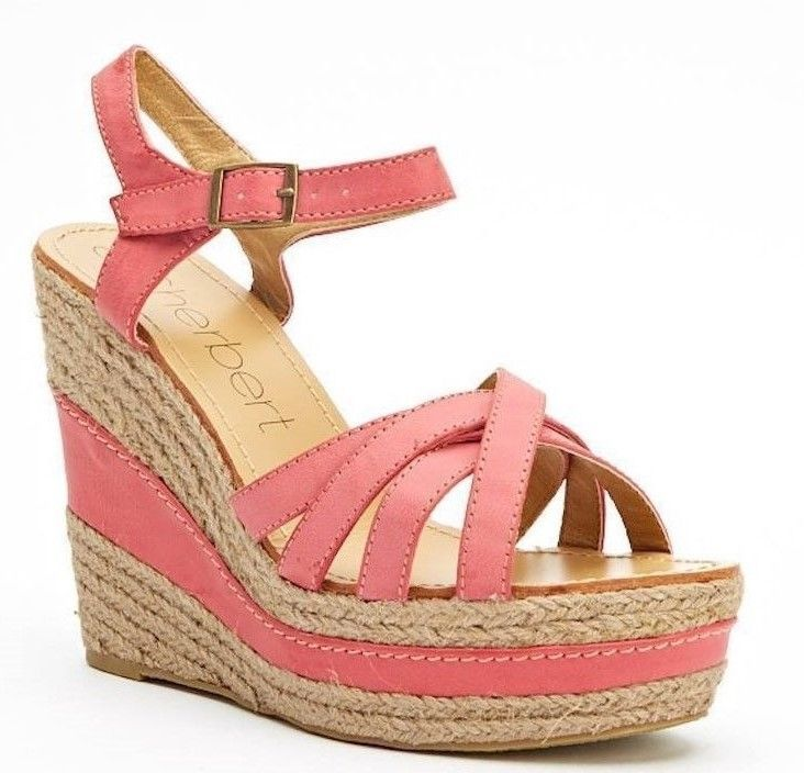Womens Ladies Red/Pink Faux Leather Wedge Heel Shoes Sandals Size 4,5,6,7,8 New   #sandals #shoes #red #wedge #wedges #strappy #platform #fauxleather #espadrille #shopping #style #fashion #footwear #forsale #womens #womensfashion #ladies #ebay #ebayseller #ebayshop #ebaystore