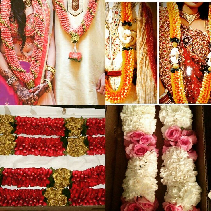 These awesome wedding #jaimala is a perfect way to unite two souls. Highlighting the traditional indian culture, garlands are made of #rosepetals, handcrafted, to match with lehenga and sherwani #InspiredWeddingDecor #InspiredFloralCreations #Kanpur