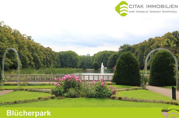 Blücherpark in Köln-Bilderstöckchen.