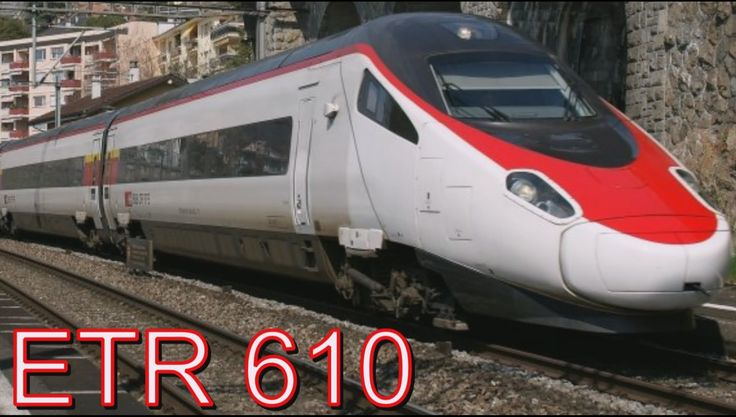 ETR 610 Итальянский скоростной поезд  !