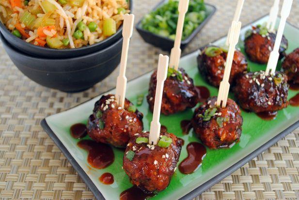 Spicy Korean-Style Gochujang Meatballs