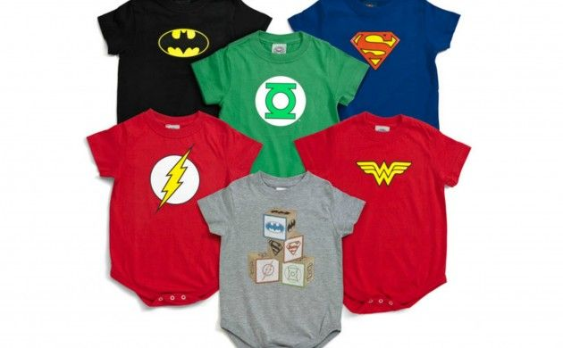 Transform your little one into a super baby with these bodysuits!