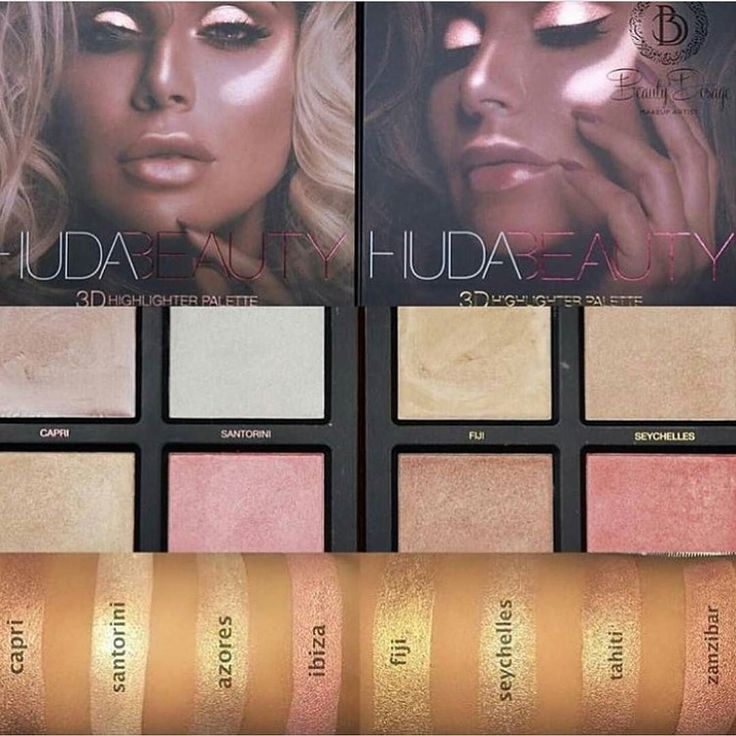 WIN a @hudabeauty 3D Highlighting Palette  Find this image on the @theultimateworkshop_za page to find out how