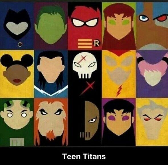 Raven, Beast Boy, Robin, Starfire, Cyborg, Bumblebee, Aqualad, Red-X, Kid Flash, Jinx, Gizmo, Mamoth, Slade, Blackfire and Brother Blood