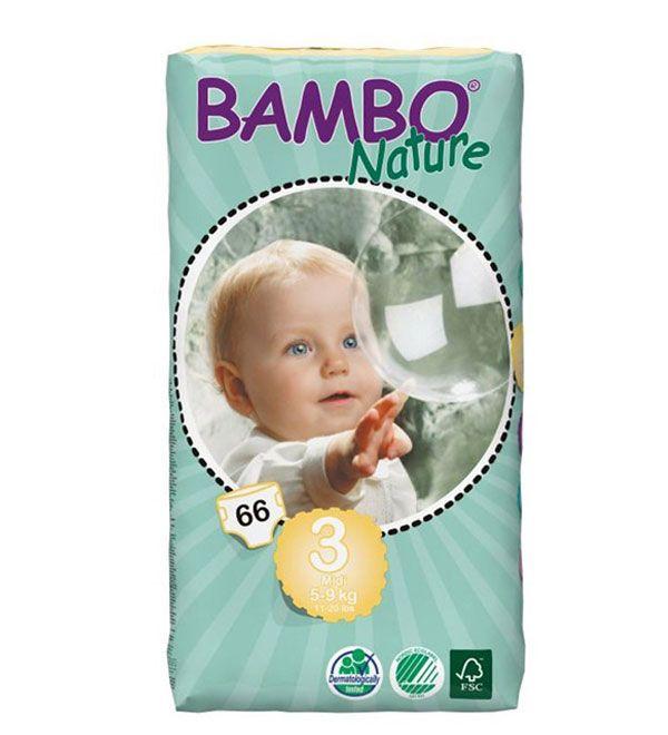 Bambo Nature midi 3: 5 - 9 kilo (op=op)