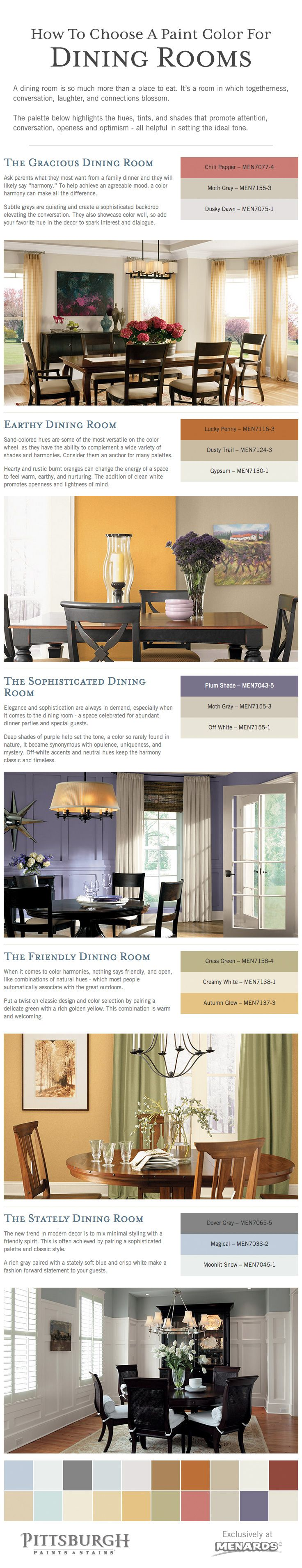 How To Choose A Paint Color For Dining Room Tips Selecting