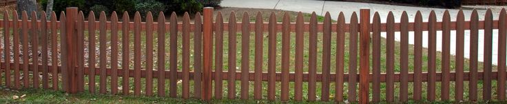 Fencing - Composite fencing from Fiberon comes in 3 picket styles, and 3 colors.