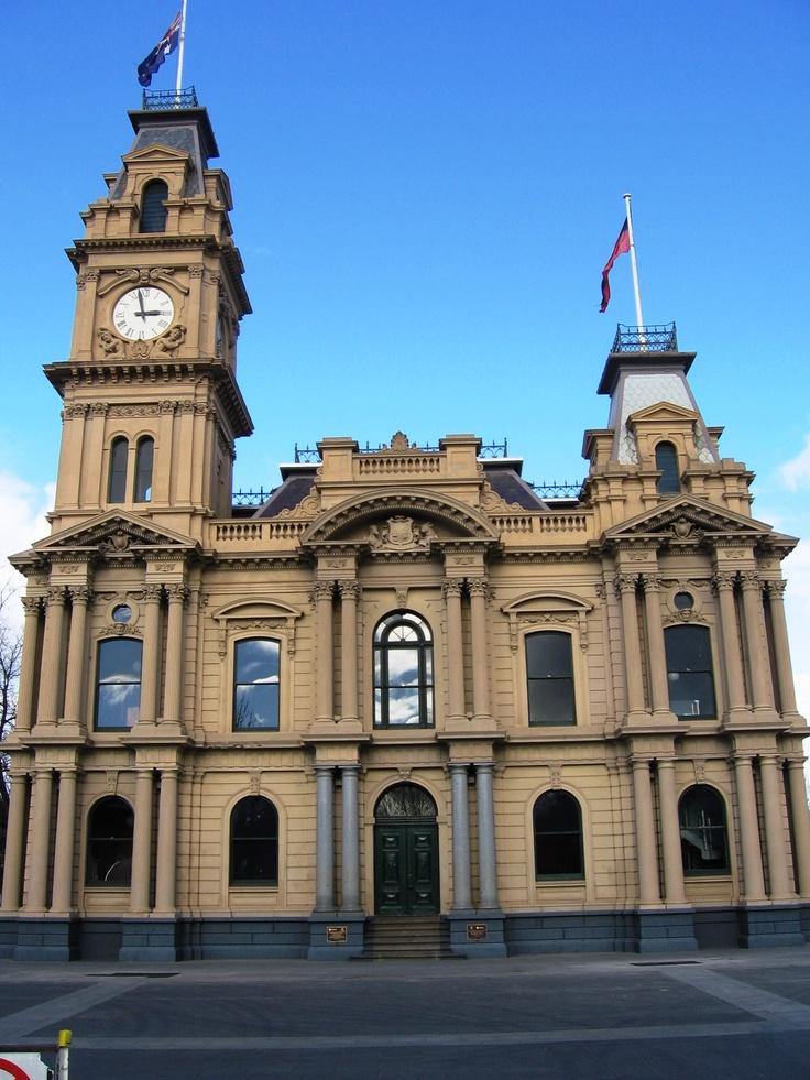Bendigo Town Hall, Victoria Australia