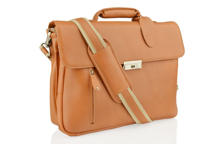 Genuine Baggage - Woodland Leather Laptop Bag in tan, $304.50 (http://www.genuinebaggage.com.au/woodland-leather-laptop-bag-in-tan/)