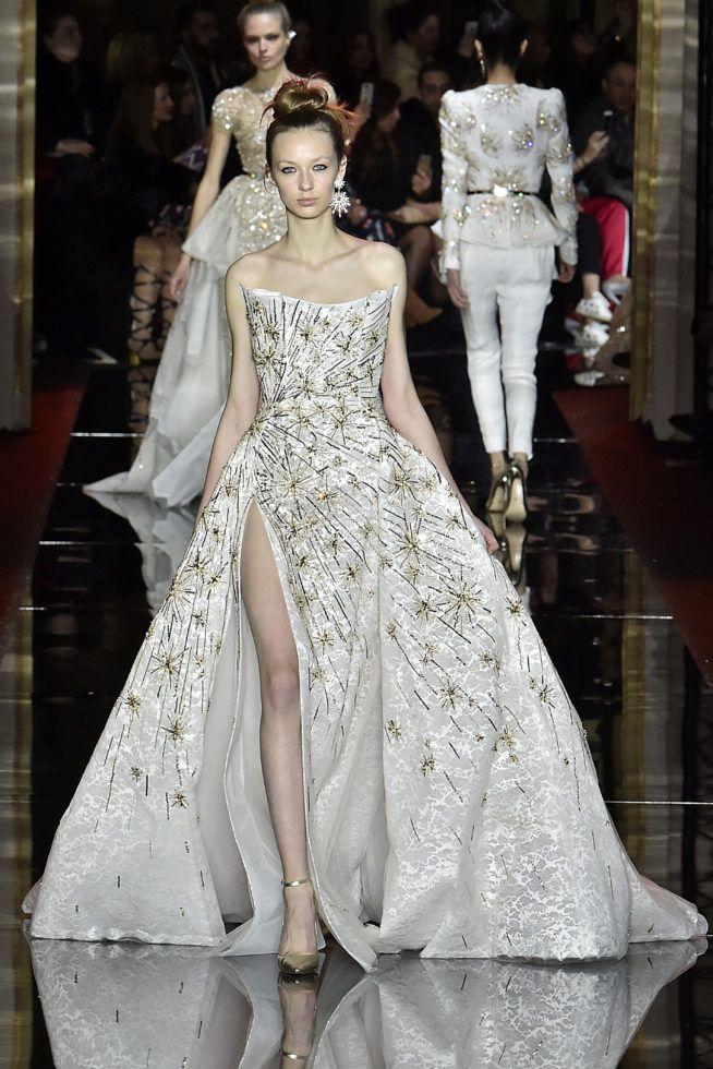 Zuhair Murad Haute Couture Spring Summer 2017 Paris January 2017