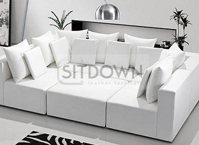 П-образный диван Трансформер - купить большой модульный диван. Цена и фото на диван Трансформер в интернет магазине Sit-Down.ru