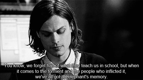 Criminal Minds Quotes And Sayings | dr reid # criminal minds # matthew gray gubler # quotes