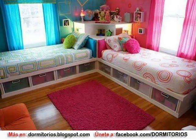 DORMITORIOS PARA NIÑO Y NIÑA : Dormitorios: Fotos de dormitorios Imágenes de habitaciones y recámaras, Diseño y Decoración