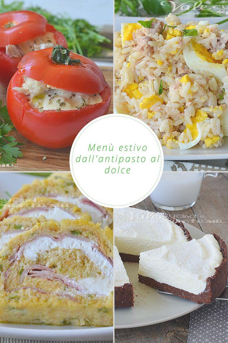 Piatti Freddi Veloci Da Asporto menu estivo ricette facili dall antipasto al dolce | ricette