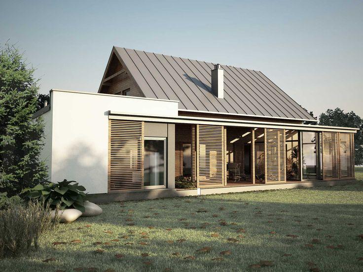 Rozbudowa budynku mieszkalnego jednorodzinnego D_05   K. S. ARCHITEKCI   Kinga Brix-Grobelna • Seweryn Grobelny