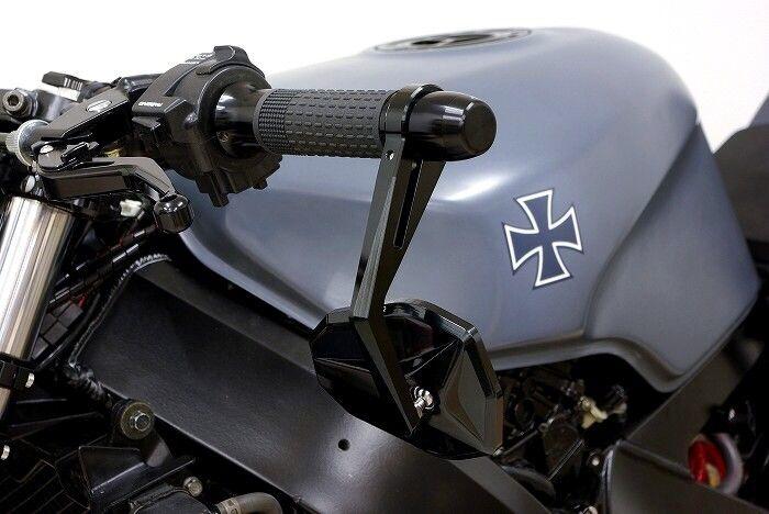 ストリートファイター系バイクのバーエンドミラー