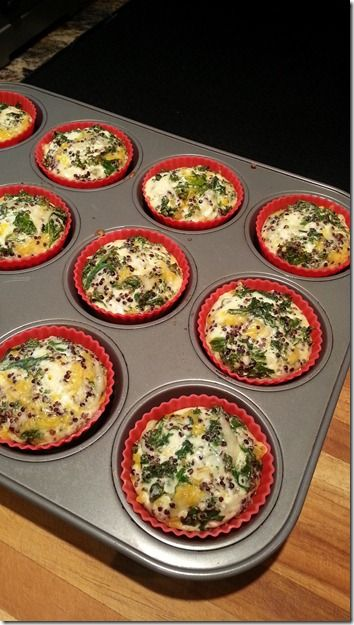 goat cheese frittata cups prosciutto wrapped macaroni and cheese cups ...