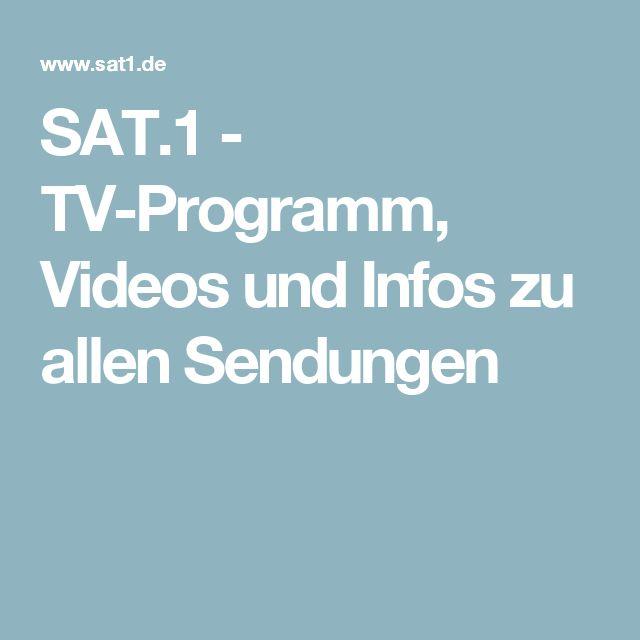 SAT.1 - TV-Programm, Videos und Infos zu allen Sendungen