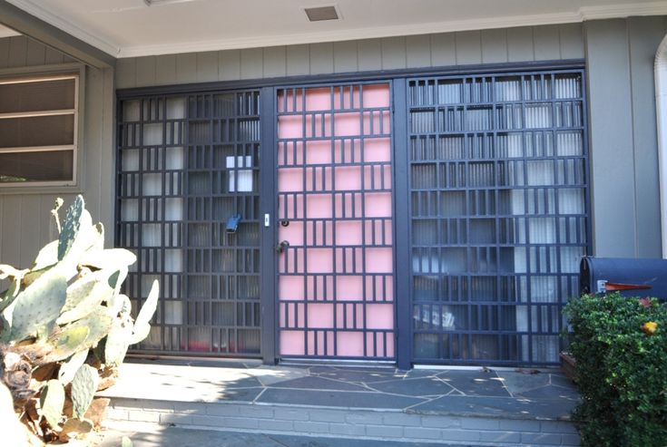 17 Best Images About Mid Century Modern Front Doors On