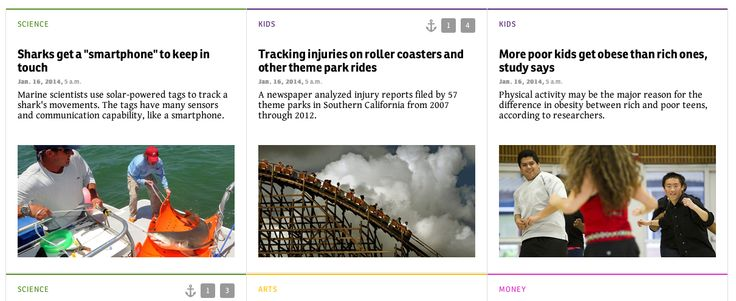 NEWSELA a site for students to read recent news articles and adjust to fit their lexile level
