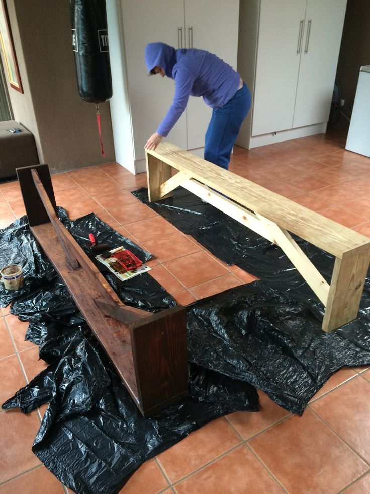 Dinning room table benches