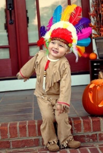 Индейские костюмы своими руками