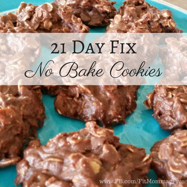 21 Day Fix No Bake Cookiesmakes about 24-30 depending on size, serving size is 1 large or 2 small depending on how big you make yours 1 cup natural peanut butter 3/4 cup honey 1/2 cup coconut oil …