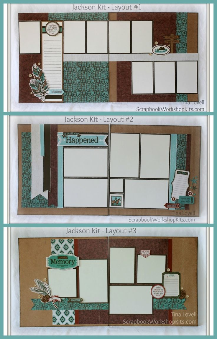 Scrapbook Kit Cutting Guides  (Click on tab at top to see CARD Cutting Guides)   Created by Tina Lovell   To help make your job faster, s...