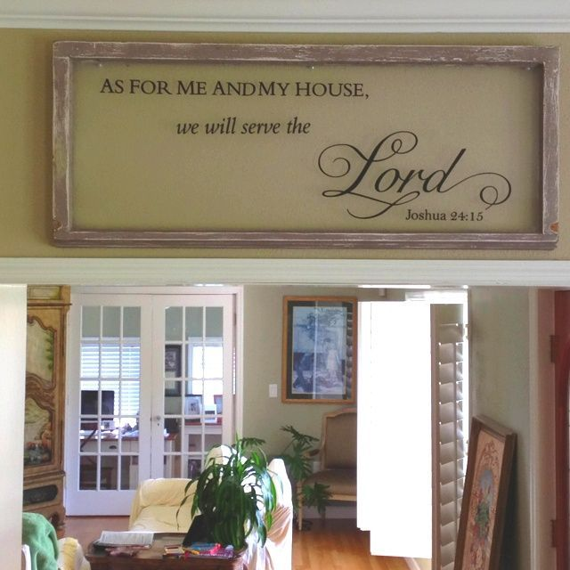 decorating with old windows | Decorating With Old Windows | An old window some vinyl lettering ...