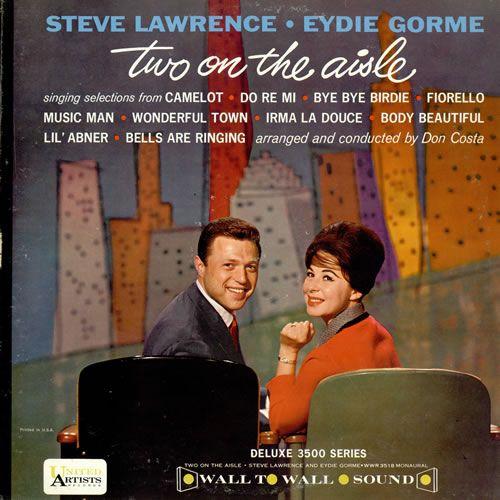 Steve Lawrence Amp Eydie Gorm 233 Two On The Aisle Us Vinyl Lp