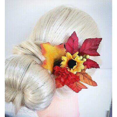 Herbstlaub Haarspange