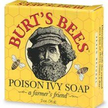 burt's bees soap contains jewelweed and also another clay recipe for poison ivy