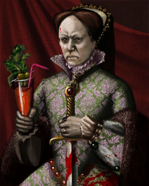 Bloody Mary....havin' a Bloody Mary