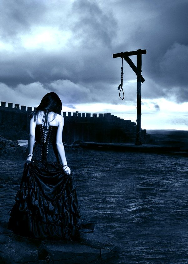 model : Sea : gallows : sxc.hu