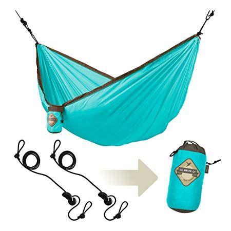 La Siesta Colibri Parachute Silk Single Travel Hammock