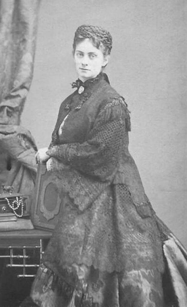 Sophie d'Alençon, geborene Herzogin in Bayern (1847-1897), jüngste Tochter von Herzog Max in Bayern und Prinzessin Ludovika von Bayern.