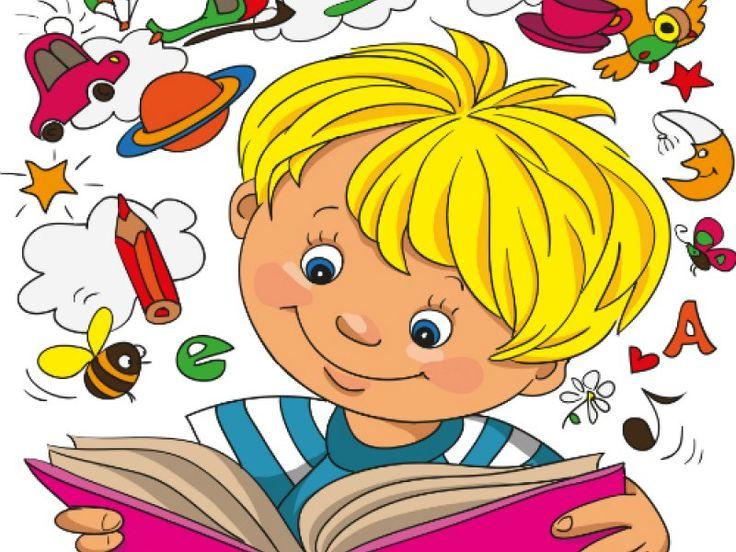 Дети читают книги картинки для детей