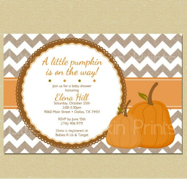 6 Fabulous Fall Baby Shower Ideas |  Adorable autumn-themed invitations, recipes, décor and more.