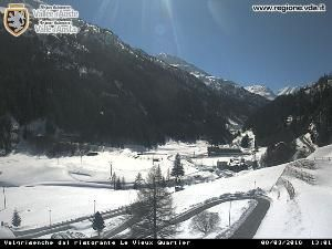 WebCam showing current Snow conditions in Valgrisenche, ©Val dAoste Tourist Office