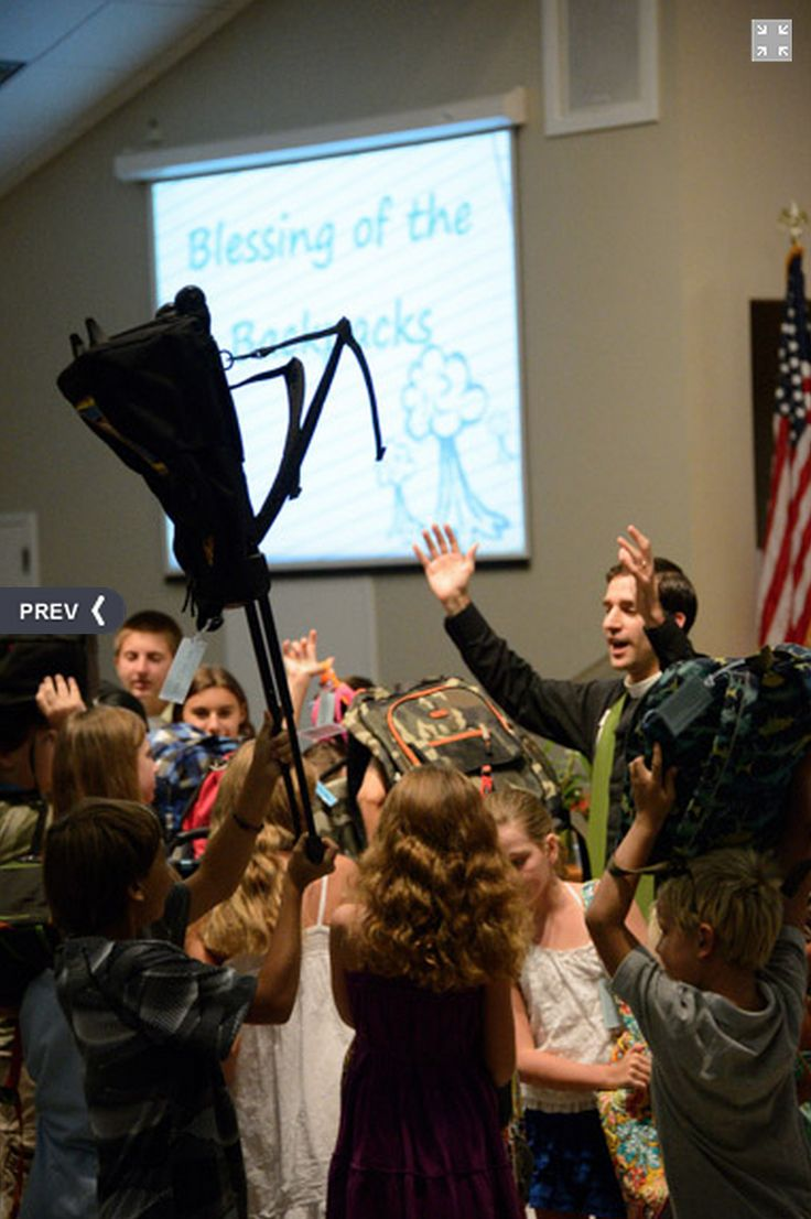Blessing of the Backpacks - 6 Tips for Success