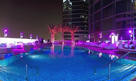 media one hotel Dubai Swimming pool