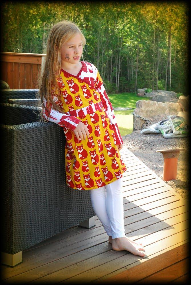 Kaikki yhdest Koo'st: Savaway-haaste Paapiin Aidasta / Dress from PaaPii's fabrics