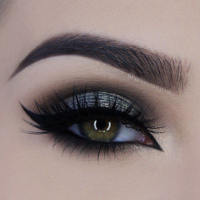 Smoked out eyeliner
