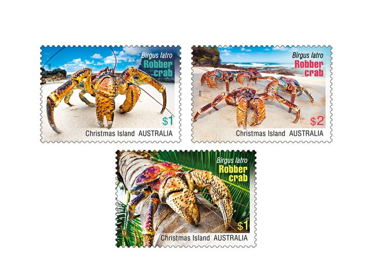 COLLECTORZPEDIA Christmas Island Robber Crabs