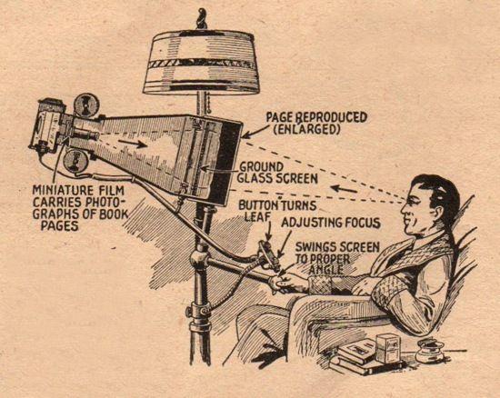 An early Kindle prototype.