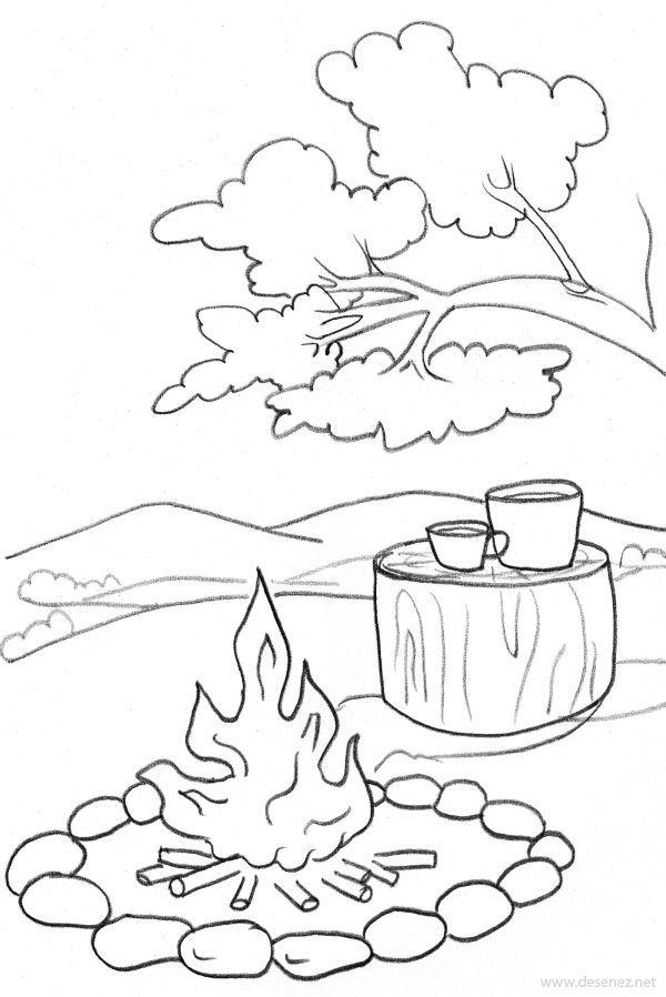 Imagini Pentru Planse De Colorat Foc