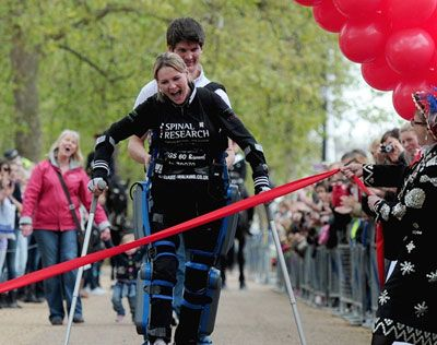 Claire Lomas, a woman to admire!  If you ever think you can't do something, read what she did! http://hersocialnetwork.com/profiles/blogs/claire-lomas-a-woman-to-admire
